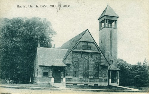 East Milton Baptist Church postcard