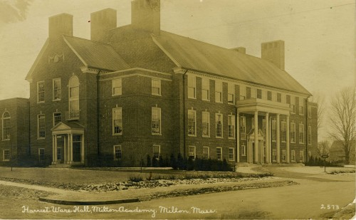 Harriet Ware Hall postcard
