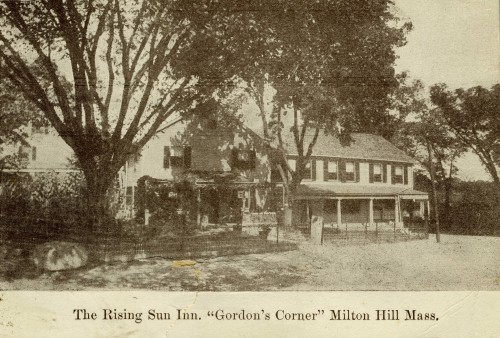 The Rising Sun Inn, Gordons Corner, Milton Hill