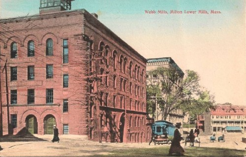 Webb Mill postcard
