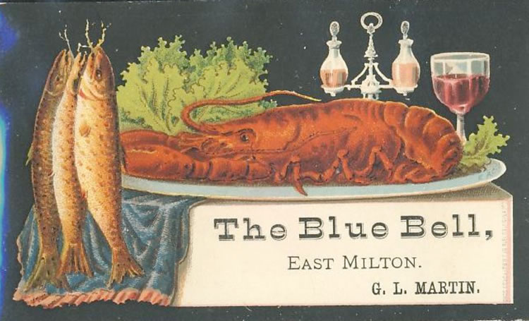Blue Bell Trading Card